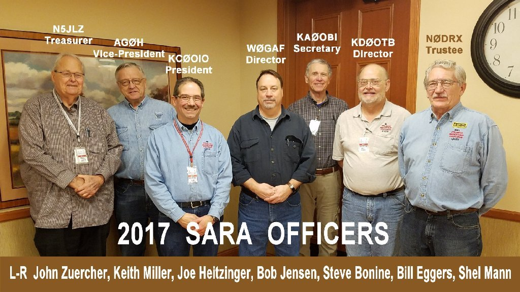 2017 SARA Officers