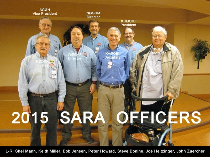 2015 SARA Officers