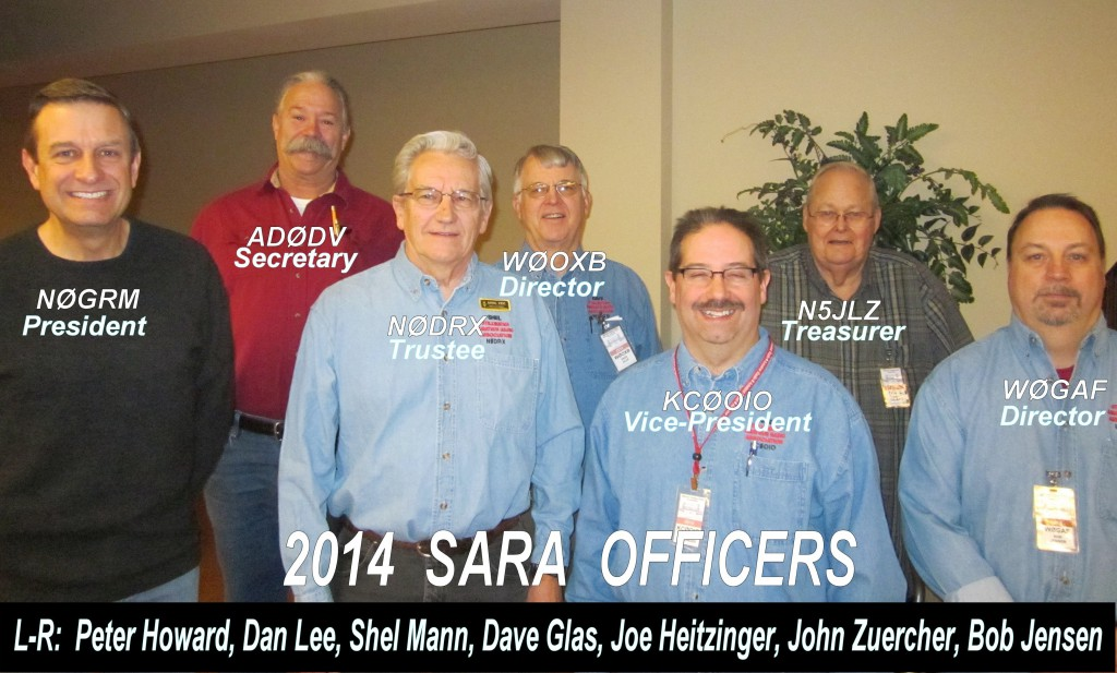 2014 SARA Officers